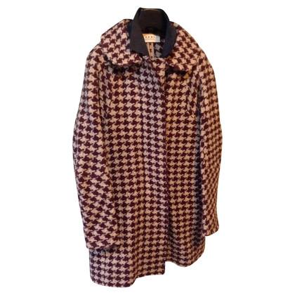 Marni houndstooth coat