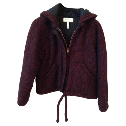 Isabel Marant Etoile Jacket in Bordeaux