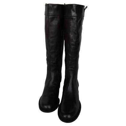 Max Mara Max Mara leather boots