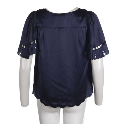 Chloé Navy Top