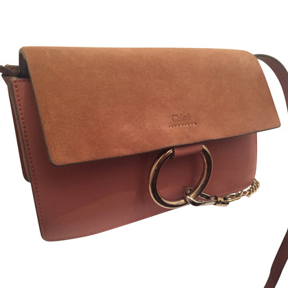 Chloé Faye pink handbag