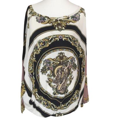 Versace top with motif print