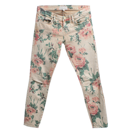Current Elliott Jeans con stampa floreale