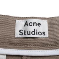 Acne Shorts in Ocker