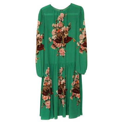 Dolce & Gabbana Silk print dress