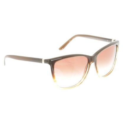 Yves Saint Laurent Sonnenbrille mit braunem Farbverlauf