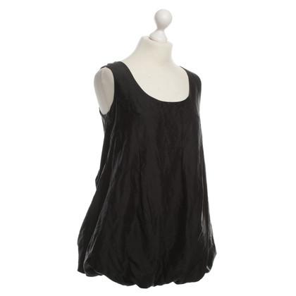 Patrizia Pepe Balloon blouse in black