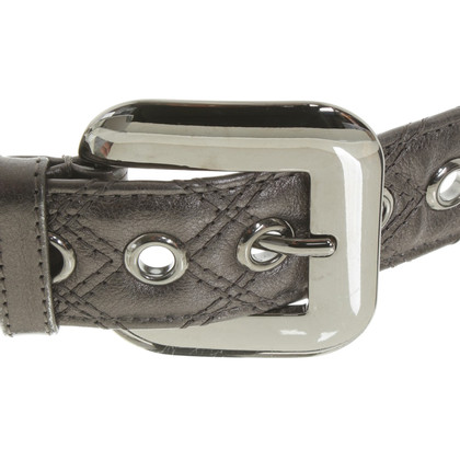 D&G Silver colored belt