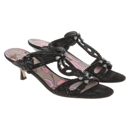Maliparmi Sandals in black
