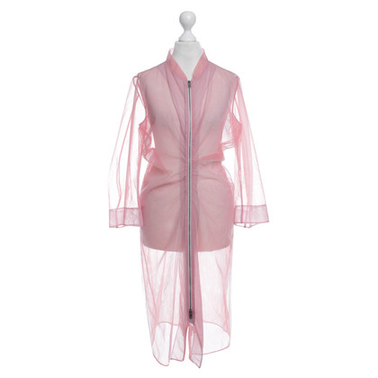 Jil Sander cappotto estate in rosa
