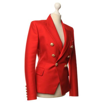 Balmain Blazer in Rot