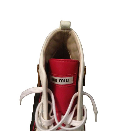 Miu Miu High-top sneakers leather