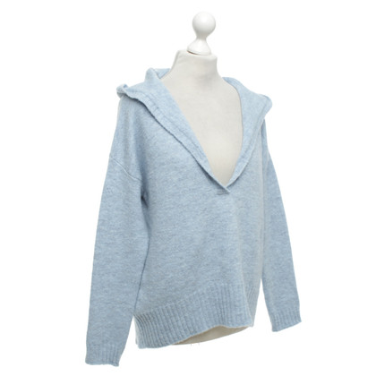 Camouflage Couture Knitted sweater in blue