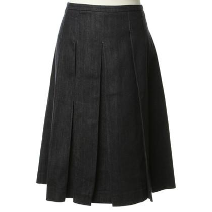 Max Mara Issued skirt denim
