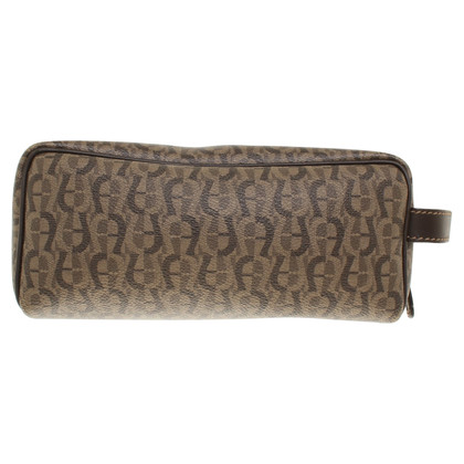 Aigner Toiletry bag with logo pattern