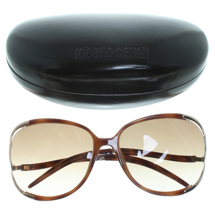 Roberto Cavalli Sunglasses in tortoise shell finish