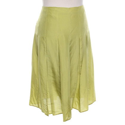 Burberry Pleated skirt made of silk