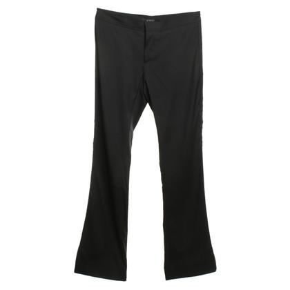 Gucci Silk broek in zwart