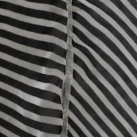 Maison Martin Margiela Rok in zwart/wit