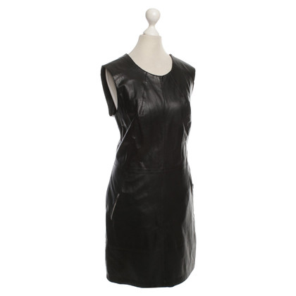 Marc Cain Leather dress in black