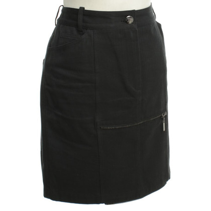 John Galliano Short cotton skirt