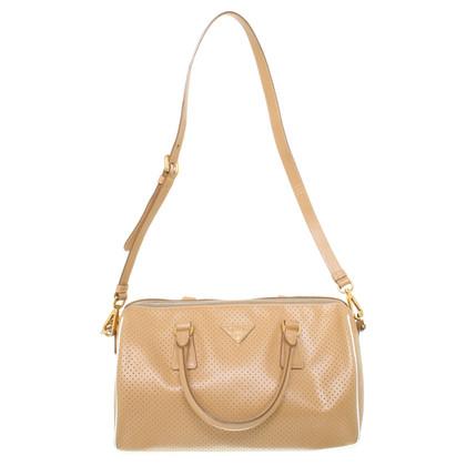 Prada Handtasche in Beige