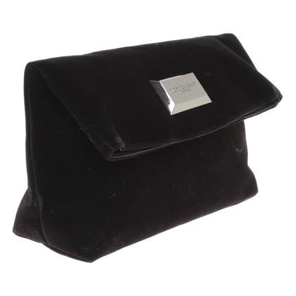 Armani clutch of velvet