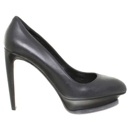 Hugo Boss Plateau-Pumps in Schwarz