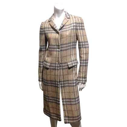 Burberry Prorsum Coat with Nova check pattern