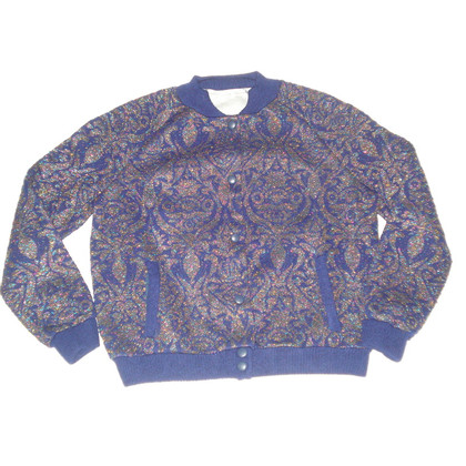 Manoush Bomber jacket with glitter coating