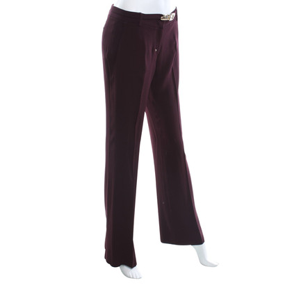 Pinko trousers in violet