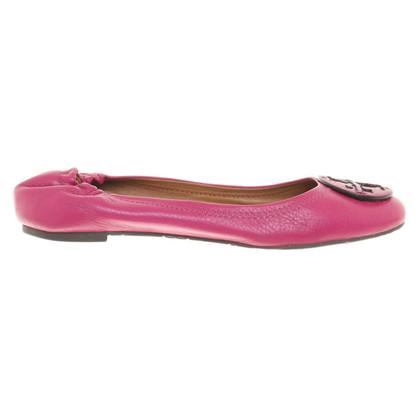 Tory Burch Ballerina's in Pink