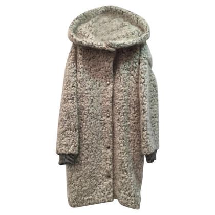 Stella McCartney Mantel in Grau