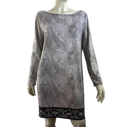 Michael Kors White dress with snake print