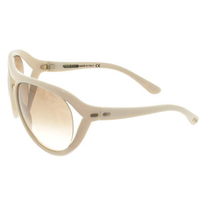 Tom Ford Sonnenbrille in Creme