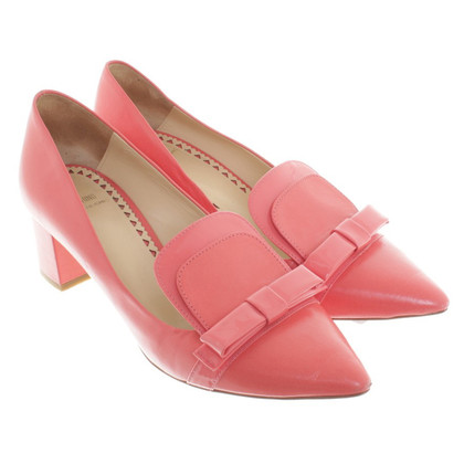 Moschino Cheap and Chic Slipper in coral red