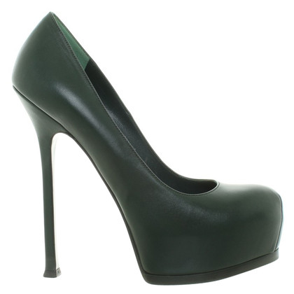 Yves Saint Laurent pumps leer