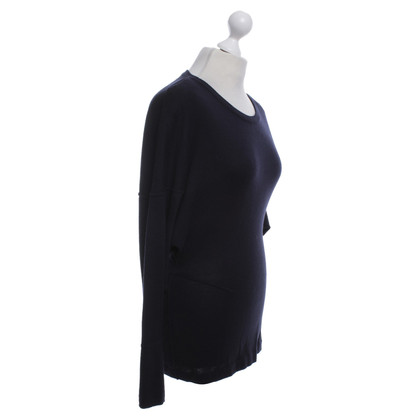Alaïa Nieuwe wollen truien in donkerblauw