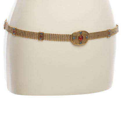 Chanel Vintagegürtel mit Schmucksteinen