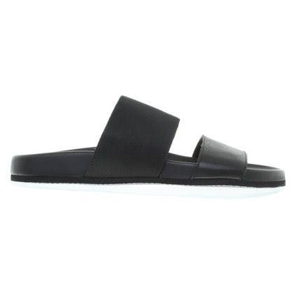 Helmut Lang Slipper in zwart
