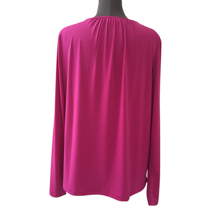 Michael Kors Shirt me jewelry detail in fuchsia