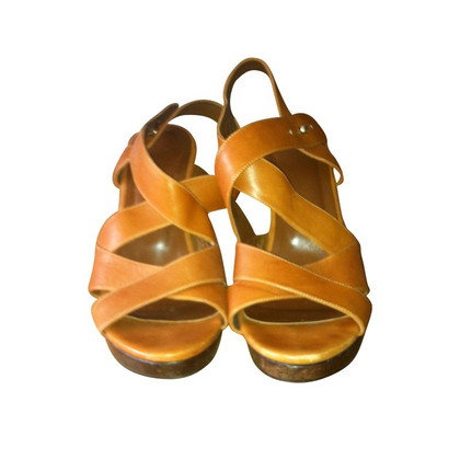 Patrizia Pepe Sandals with a wooden heel