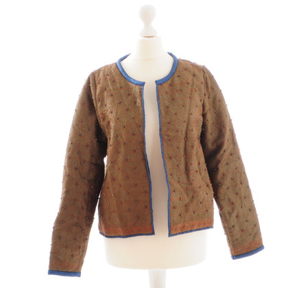 Closed Short jacket with stones