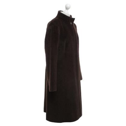 Max Mara Coat in donkerbruin