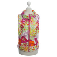 Moschino Patterned vest in color