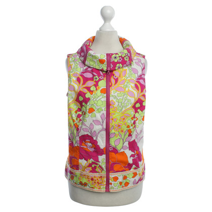 Moschino Patterned vest in Bunt