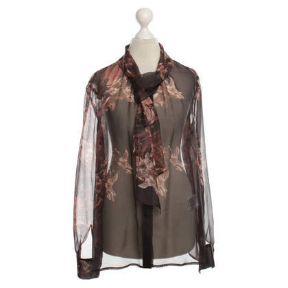 Luisa Cerano Blouse in Bordeaux