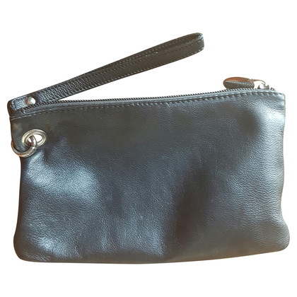 Furla clutch with rivets