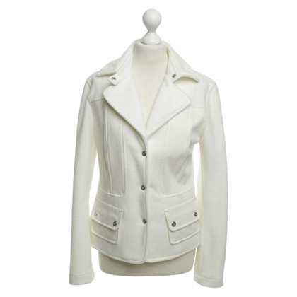 Marc Cain Wol Blazer in wit