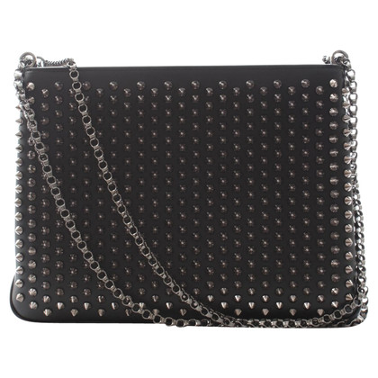 Christian Louboutin Shoulder bag with studs trim